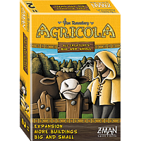 Agricola: All Creatures Big and Small - Expansion, More Buildings Big and Small