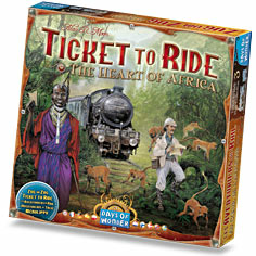 Ticket to Ride Map Collection: Volume 3 - The Heart of Africa_boxshot