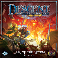 Descent: Journeys in the Dark (Second Edition): Lair of the Wyrm