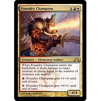 Foundry Champion (Foil)