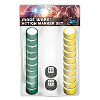 Mage Wars: Action Marker Set