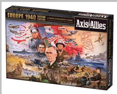 Axis & Allies Europe 1940 (Second Edition)_boxshot