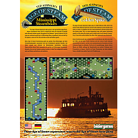 Age Of Steam: Mississippi Steamboats/Golden Spike