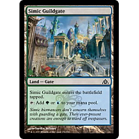 Simic Guildgate ( Foil )