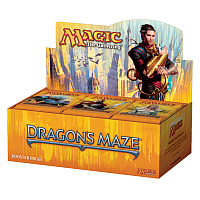 Dragon's Maze booster display