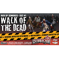 Zombicide: Box of Zombies Set #1: Walk of the Dead