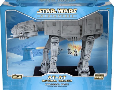 Star Wars Miniatures AT-AT Imperial Walker Colossal Pack