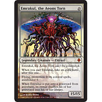 Emrakul, the Aeons Torn (prerelease promo)