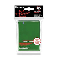 60ct Green Small Deck Protectors