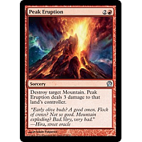 Peak Eruption