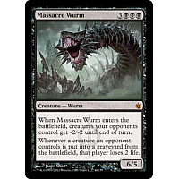 Massacre Wurm ( Foil )
