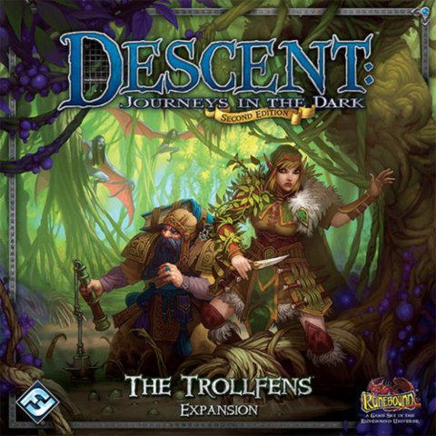 Descent: Journeys in the Dark (Second Edition): Trollfens_boxshot