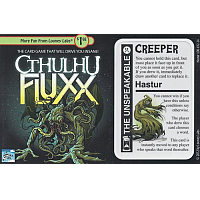 Cthulhu Fluxx: Hastur the Unspeakable Promo Card