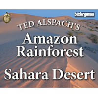Steam Maps: Amazon Rainforest, Sahara Desert