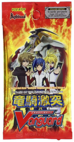 BT09 Clash of the Knights & Dragons booster_boxshot