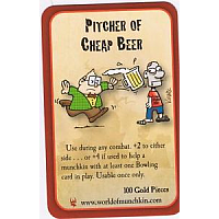 Munchkin Zombies - Pitcher of Cheap Beer
