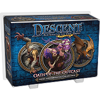 Descent: Journeys in the Dark (Second Edition) - Oath Of The Outcast (Hero and Monster Collection)