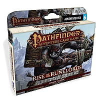 Pathfinder ACG: Rise of the Runelords Adventure Deck 6 - Spires of Xin-Shalast