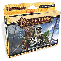 Pathfinder ACG: Skull And Shackles Character Add-On Deck