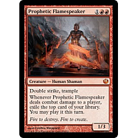 Prophetic Flamespeaker (Foil)