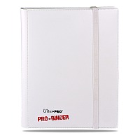 9-Pocket PRO-Binder White-on-White