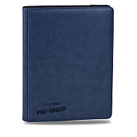 Premium Pro-Binder - 9-Pocket Portfolio - Blue