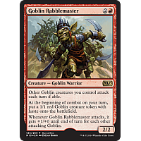 Goblin Rabblemaster (M15 buy-a-box)