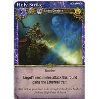 Mage Wars: Holy Strike (Promo Card)