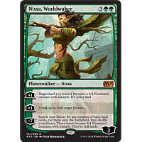 Nissa, Worldwaker (foil)