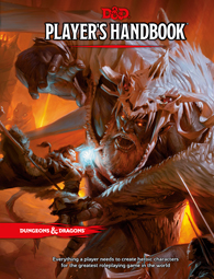 Dungeons & Dragons: Player's Handbook 5th edition_boxshot