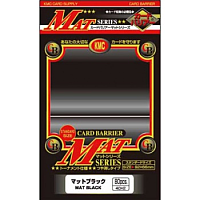 KMC Standard Sleeves - Mat Black