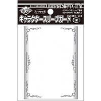 KMC Standard Sleeves - Character Guard Clear with Florals