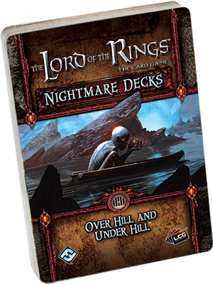 New The Hobbit Over Hill and Under Hill Lord of the Rings Lcg
