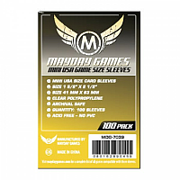 Mayday Games Card Sleeves - Mini USA Size