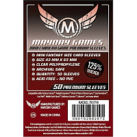 Mayday Games Card Sleeves - Mini Fantazy Size Premium