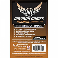 Mayday Games Card Sleeves - Magnum Ultra-Fit - Red