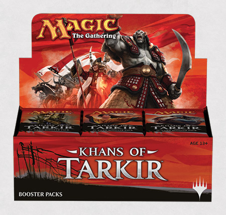 Khans of Tarkir booster box_boxshot