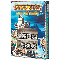 Kingsburg: Dice & Tokens set Black