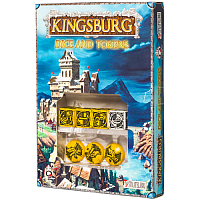 Kingsburg: Dice & Tokens set Yellow