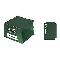 PRO Dual Standard Green Deck Box (180 cards)