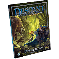 Descent: Journeys in the Dark (Second Edition) - Heirs Of Blood Campaign Book