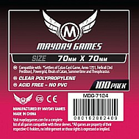 Mayday Games Card Sleeves - Small Square 70 x 70