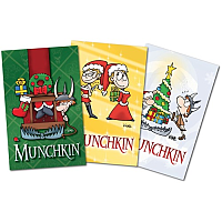 Munchkin Journal Pack 3 (Xmas Themed)