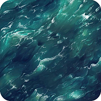 Grip Mat: Summer Seas 24x24