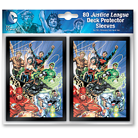 DC Comics - Justice League Deck Protector Sleeves (80 sleeves)