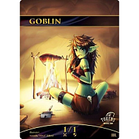 Tokens for MTG - Goblin Token