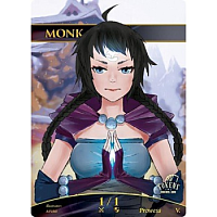 Tokens for MTG - Monk Token