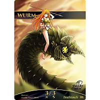 Tokens for MTG - Wurm (ver.1) Token