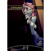 Tokens for MTG - Zombie Token