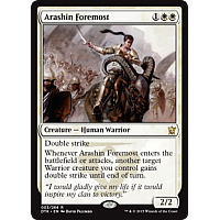 Arashin Foremost (Prerelease)